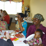 Women's Christmas Tea 2014