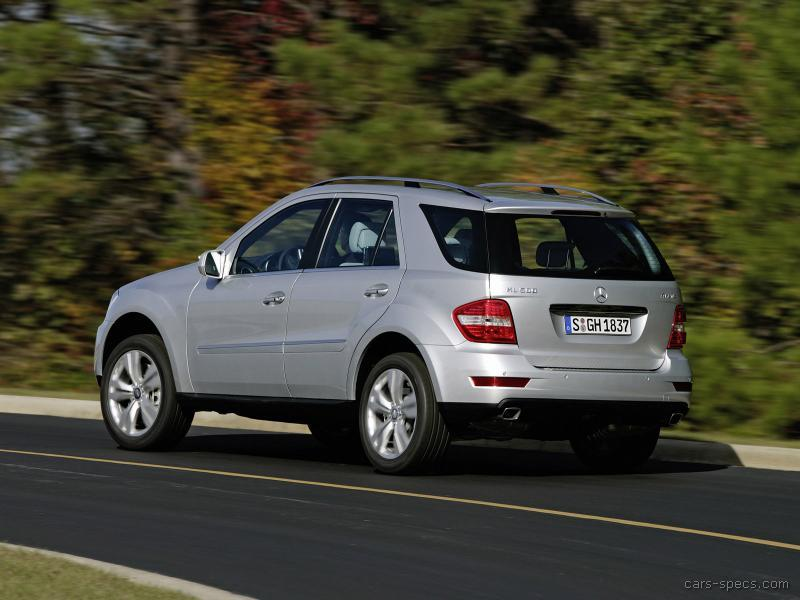 2008 Mercedes-Benz M-Class SUV Specifications, Pictures ...