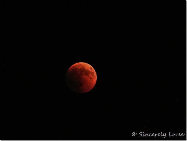 Eclipse of the blood moon 072018