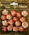 Petaloo: Antique Peach - Forget me Nots 16 pc