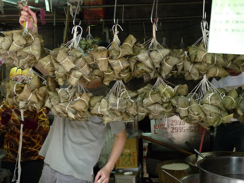 zongzi, for dragon boat festival