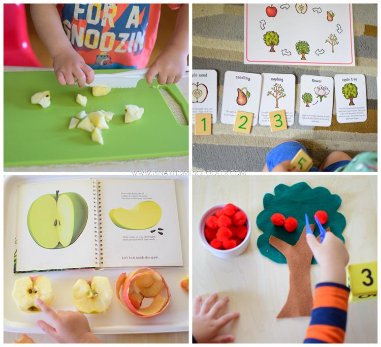 MontessoriSimpleAppleActivities