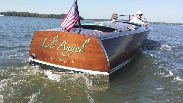 Gold Leaf Boat Lettering – Lil' Angel