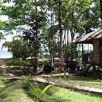 Local path at Mimpi Indah resort, Bangka Island