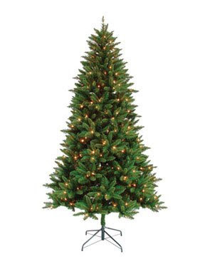 Charm Tree SW-223-40 Celebrations Swiss Fir Prelit Tree 4 Ft. With 100 Multi Colored Lights & 235 Tips