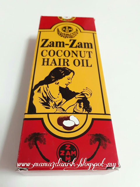 Zam-Zam Coconut Hair Oil