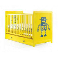 Robot 3 in 1 cot bed from bambino direct