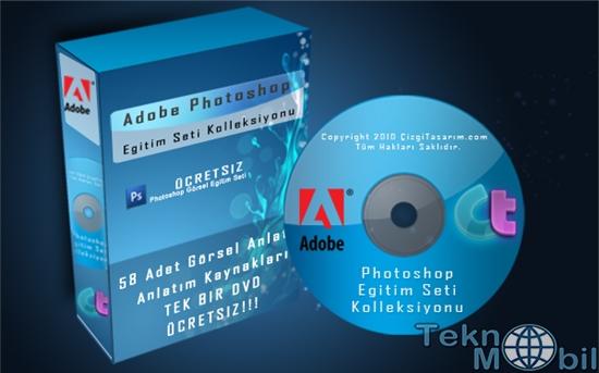 Photoshop Eğitim Seti Türkçe Full İndir