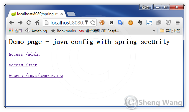 Java-based Spring mvc configuration - with Spring security