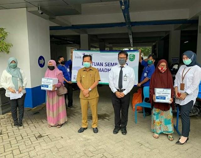 Pensiunan dan Jurnalis Ketiban Rezeki Ramadan Bank Kalsel