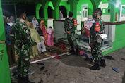 Babinsa Minta Warga Tetap Patuhi Prokes Saat Sholat Berjamaah di Masjid