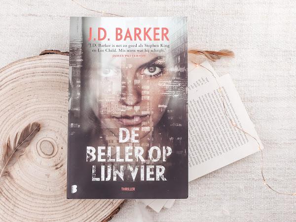 Boek Review | De beller op lijn vier - J.D. Barker