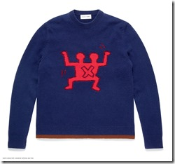Coach x Keith Haring Sweater in Navy (30393 NAV)