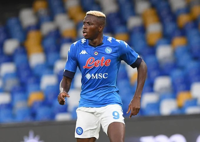 Napoli plan to stop Osimhen from AFCON