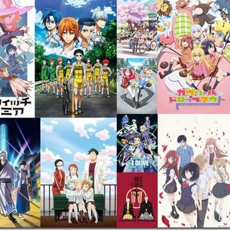 Anime yang menarik di musim dingin 2017