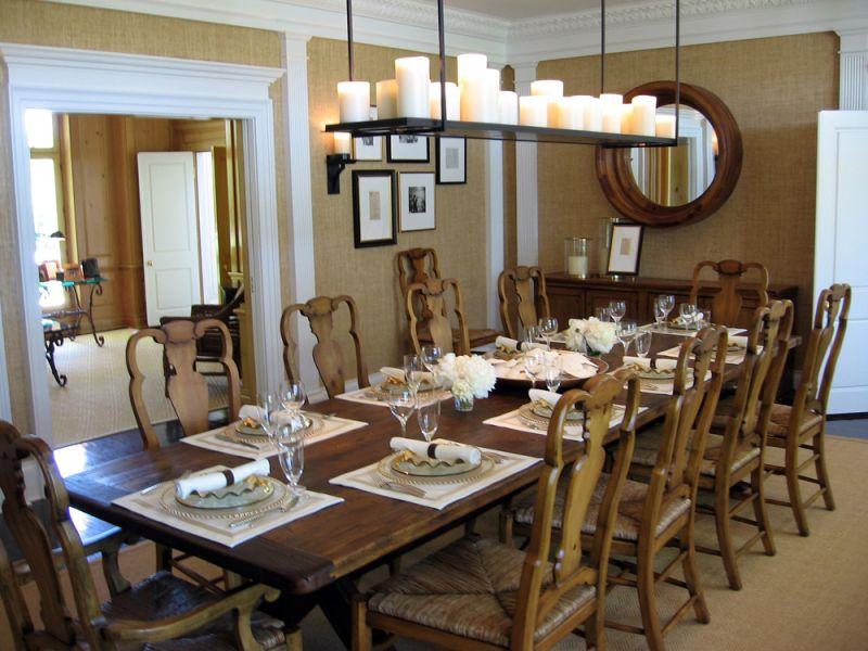 The adventures of tartanscot behind the scenes chandelier height - Dining room chandelier height ...