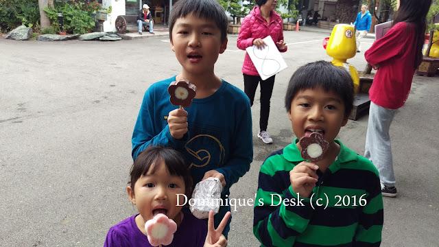 Ice cream treat for the kids