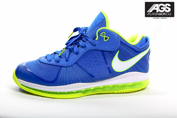 New Detailed Look at Nike LeBron 8 V2 Low 8220Sprite8221