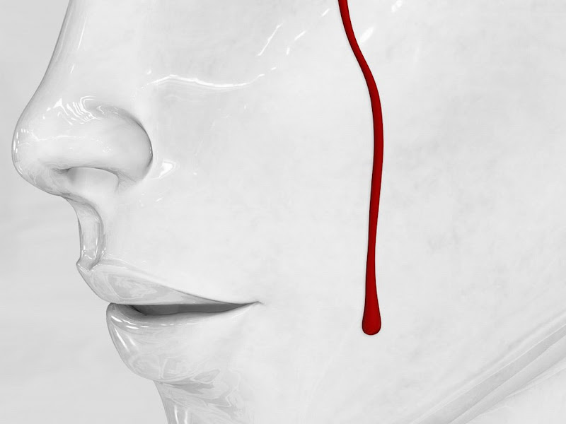 Blood On White Face, Bloody