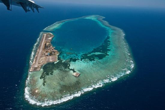남중국해인공섬
