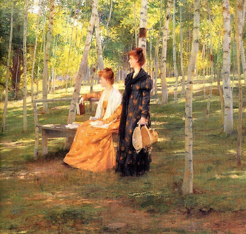 Francis Coates Jones - Reverie on a Summers Day