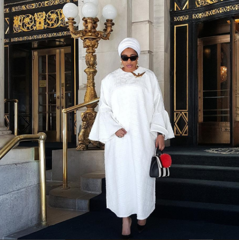 Ooni Of Ife's Ex-Wife, Olori Wuraola arrives New York on a 3-day trip to UN