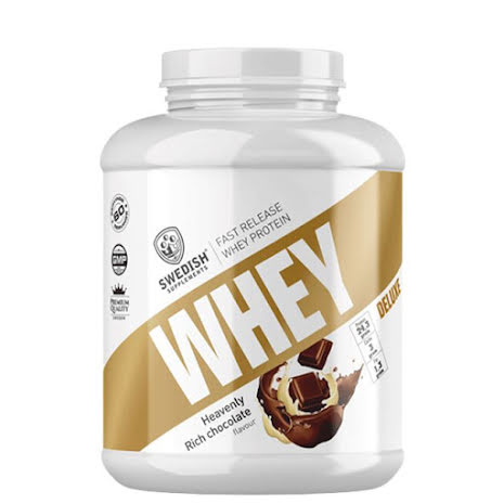 Swedish Supplements Whey Protein Deluxe 2kg - Heavenly Rich Chocolate