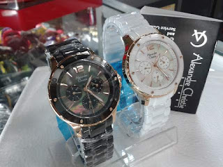 jam tangan Alexander cristie 2438SR kramik