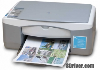Download HP PSC 1417 All-in-One Printer driver & install