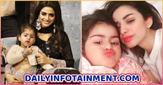 Chupke Chupke starrer Hira Soomro Beautiful Pictures with her daughter
