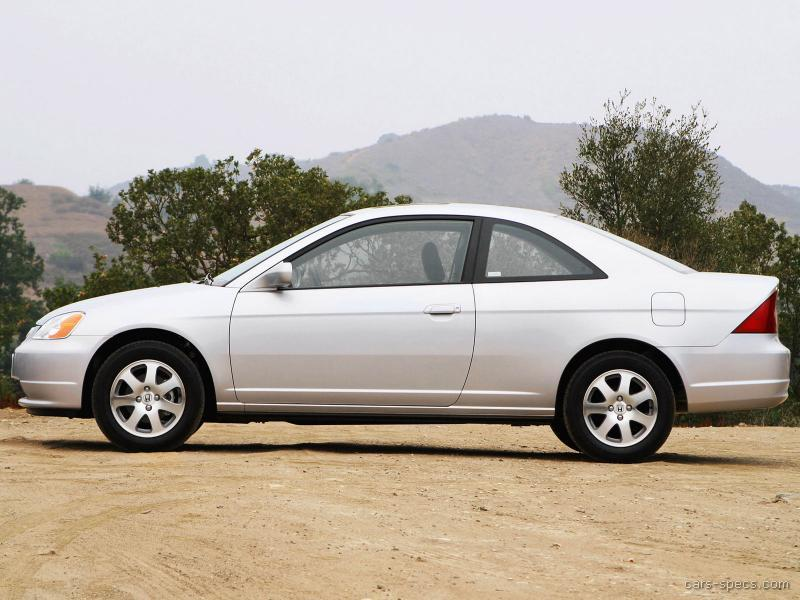 2003 honda civic coupe specifications pictures prices. Black Bedroom Furniture Sets. Home Design Ideas