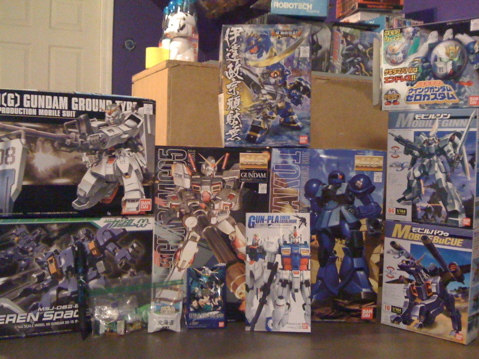 avin s random blog of awesome review gundam store and more gold