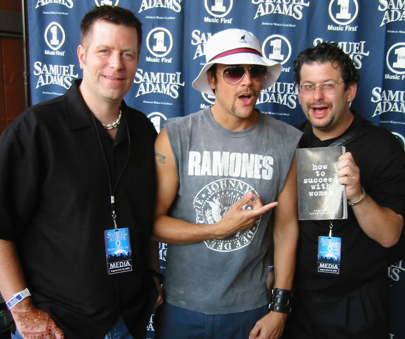 David Copeland And Ron Louis With Mtv Jackass Johnny Knoxville, David Copeland