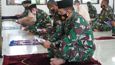 Peringati Hari Juang TNI AD TA. 2020, Korem 071/Wijayakusuma Gelar Doa Bersama