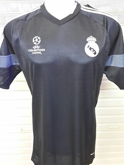 Jual Jersey Training Real Madrid Hitam Champion 2014-2015