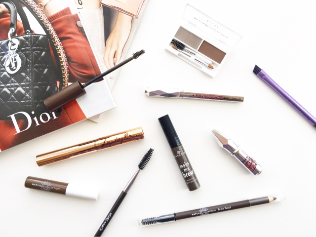 best brow products for sparse, dark, eyebrows with no shape