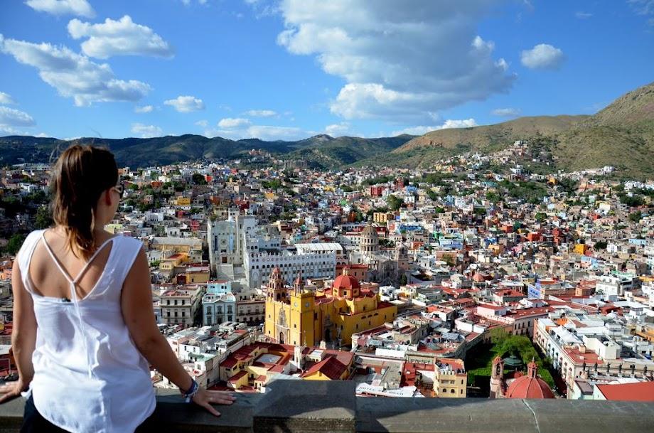 Guanajuato desde lo alto