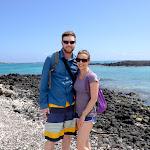 J&N on Isle Isabella - Galapagos