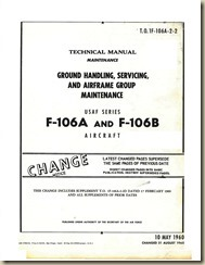 Convair F-106A and B Maintenance Manual #2