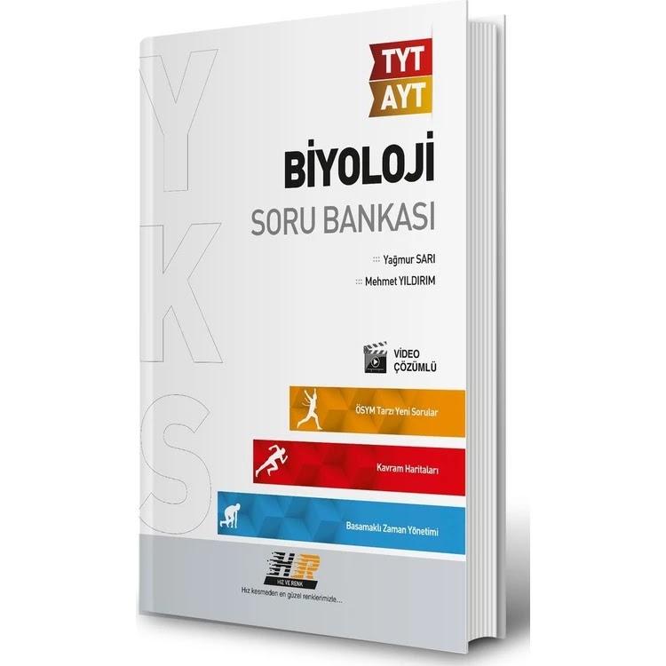 Hız ve Renk Yayınları - TYT - AYT Biyoloji - Soru Bankası