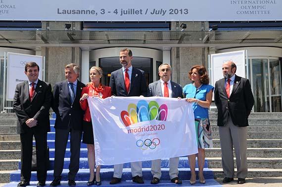 Último ensayo para Madrid 2020 en Lausanne