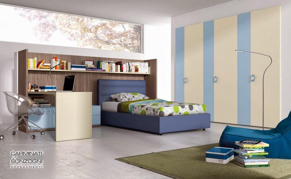 Ikea Camerette Per Ragazze. Cameretta Per Ragazzi Con Tre Letti A ...
