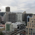 Sydney - Blick vom Dach des YHA Central