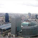Blick aus der 30. Etage des Kulturpalasts (Zentralbahnhof)