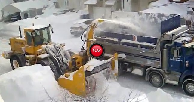 how to clean snow off car fast