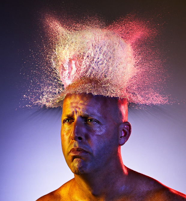 Water Wigs photo series by Tim Tadder