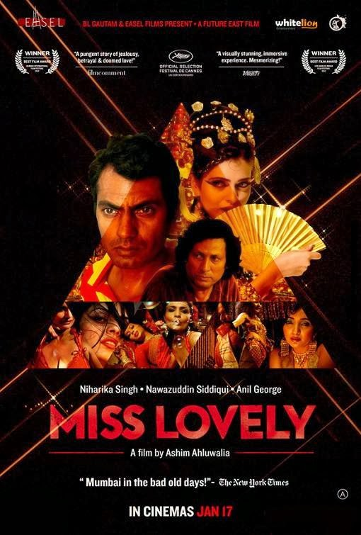 Poster Of Hindi Movie Miss Lovely (2014) Free Download Full New Hindi Movie Watch Online At Alldownloads4u.Com