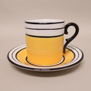Tiffany + Este Ceramiche Demitasse Cup & Saucer