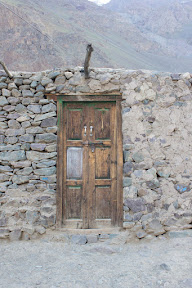 Walls & Door of a home in the village, Golaghmuli, Ghizer