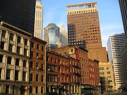 NYC street scene.